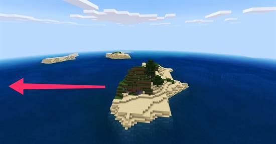 сид на остров на Minecraft PE 1.14.0.51