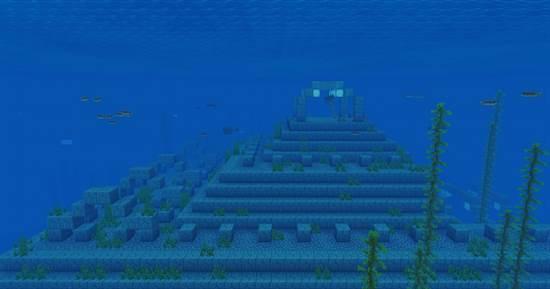 сид на подводный данж на Minecraft PE 1.14.0.51
