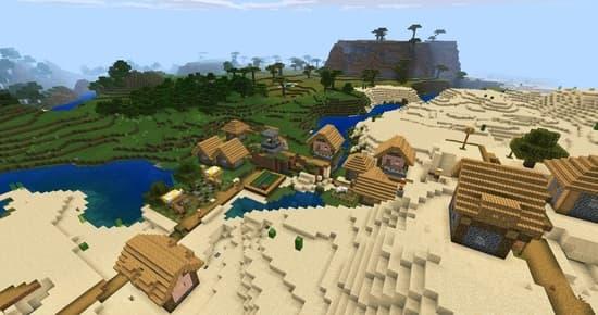 Сид на деревню для Майнкрафт 1.14.0.51